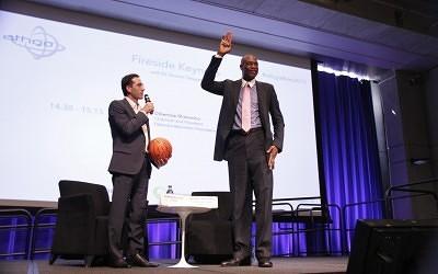 Interview with Dikembe Mutombo (video)
